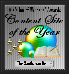 Content Site of the Year 2003-award