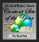 Content Site of the Year 2010-award