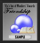 Friendship award sample