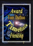 Friendship award from Timelines Award (opens in new window)