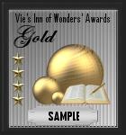 Gold award sample
