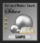 Silver award sample