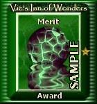 Old merit award sample