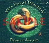 Old bronze award sample