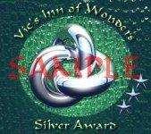 Old silver award sample