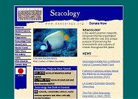 Content Site of the Year 2004: Seacology (opens in new window)