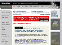 Content Site of the Year 2006: mobbing.ca (opens in new window)