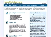 Content Site of the Year 2009: Living Manic Depressive (opens in new window)