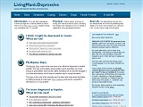 LivingManicDepressive - a bipolar disorder and depression website (opens in new window)