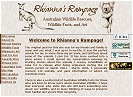 Rhianna's Rampage (site closed)