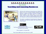 Teaching and Learning Resources (opens in new window)