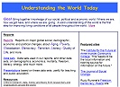 Understanding the World Today (link opens in new window)